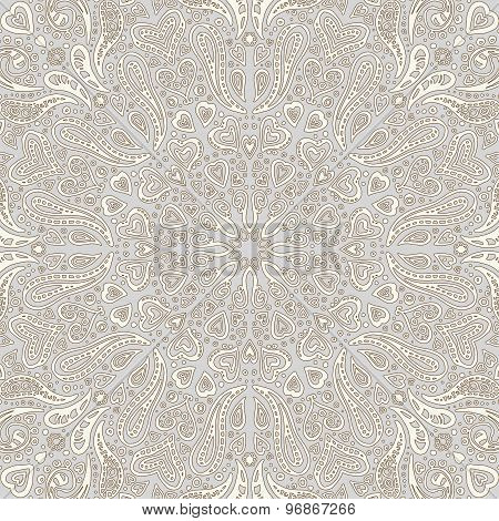 Background With Ornament