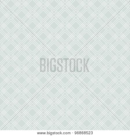 Seamless Abstract Vector Blue and White Pattern