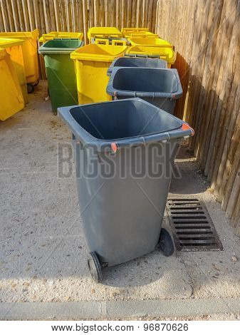 Waste And Garbage Containers