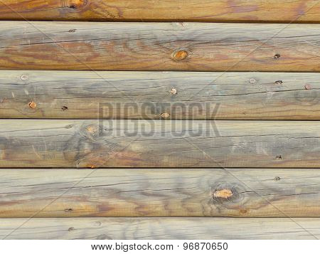 Wooden Background Logs