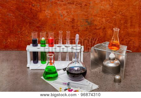 Group Of Laboratory.