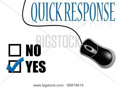 Quick Response Check Mark
