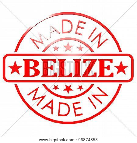 Made In Belize Red Seal