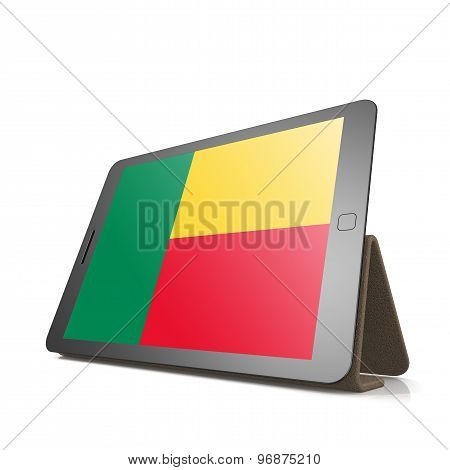Tablet With Benin Flag