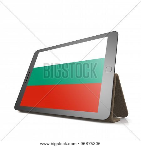 Tablet With Bulgaria Flag