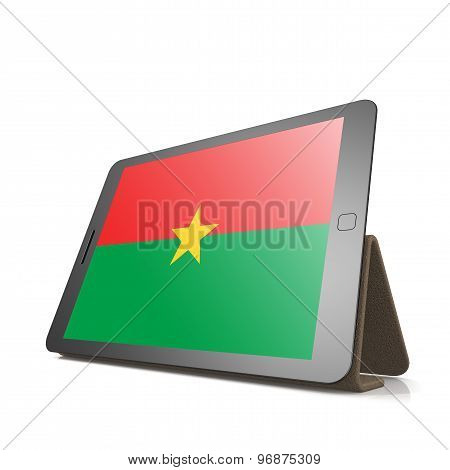 Tablet With Burkina Faso Flag