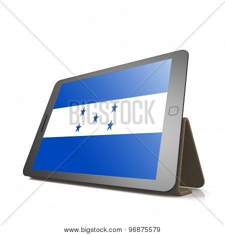 Tablet With Honduras Flag