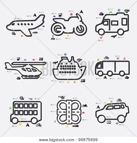 transport infographic