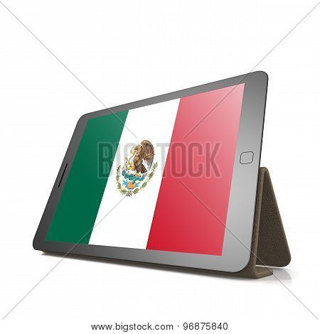 Tablet With Mexico Flag