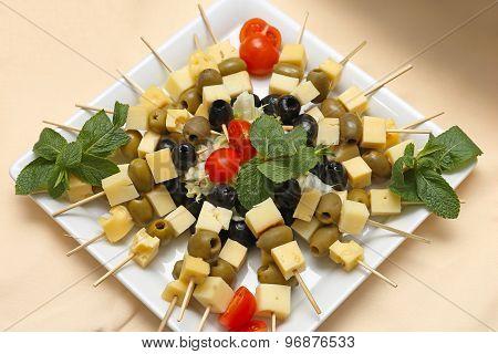 Cheese Skewers