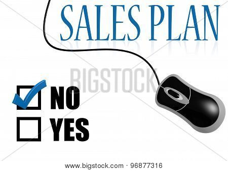 No Sales Plan With Mouse
