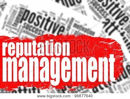 Word Cloud Reputation Management
