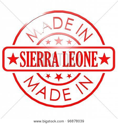 Made In Sierra Leone Red Seal