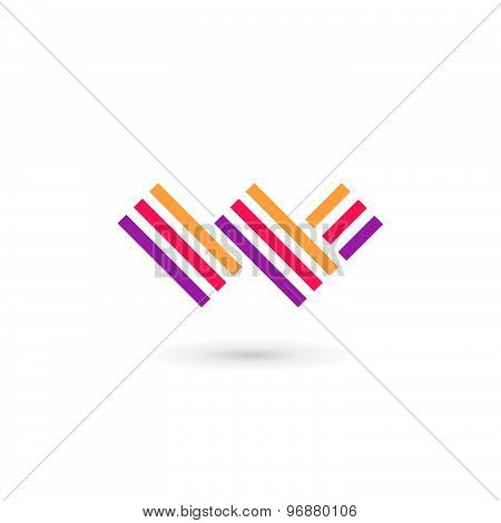 Letter W Logo Icon Design Template Elements