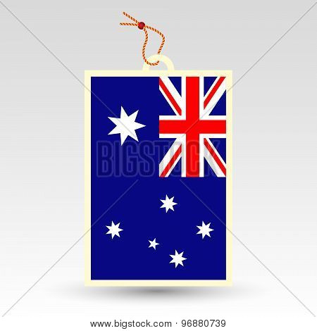 Australian Price Tag - Symbol Of Made In Australia