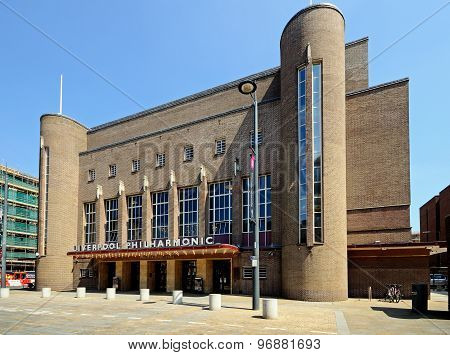 Liverpool Philharmonic Hall.