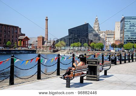 Salthouse Dock, Liverpool.