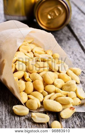 Cleaned Peanuts