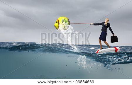 Catch big fish