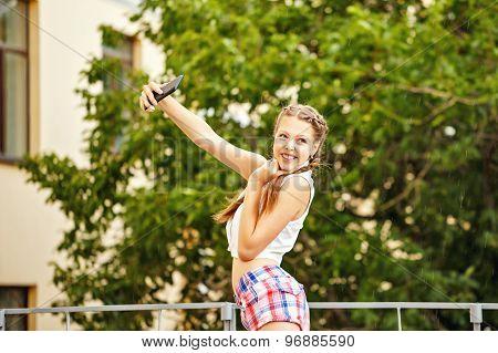 Teen Girl Selfie