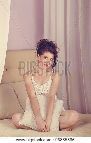 Girl In The Bedroom.