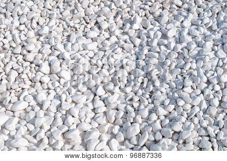 Small White Pebbles