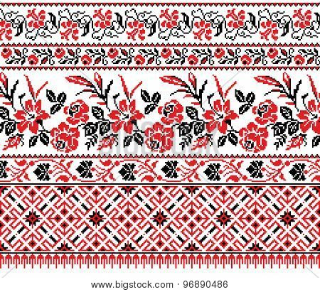 Ukrainian Floral Ornament