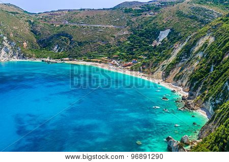 Petani Beach, Kefalonia Island, Greece