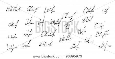25 business signatures