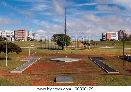 Skyline of Brasilia