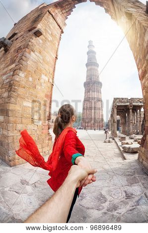 Follow Me To Qutub Minar