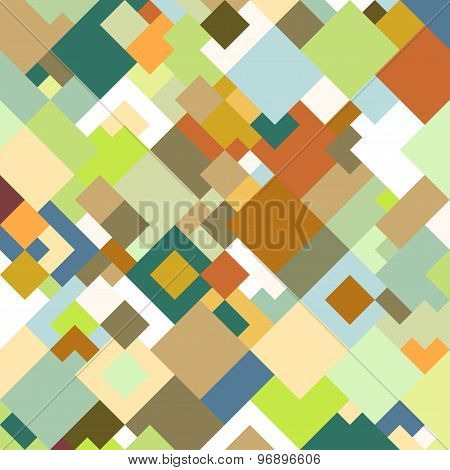 Abstract colored background, square design vector illustration