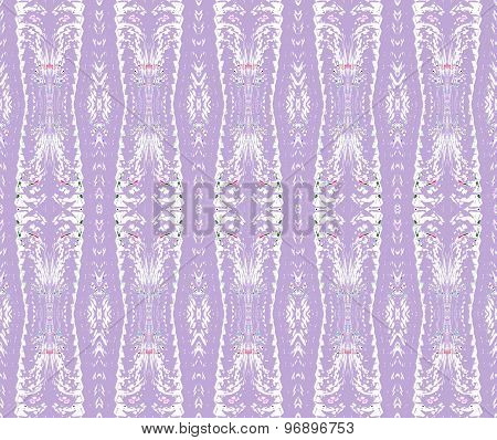 Seamless pattern lavender white