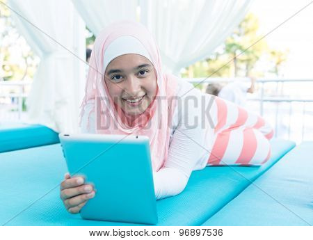 At summer vacation