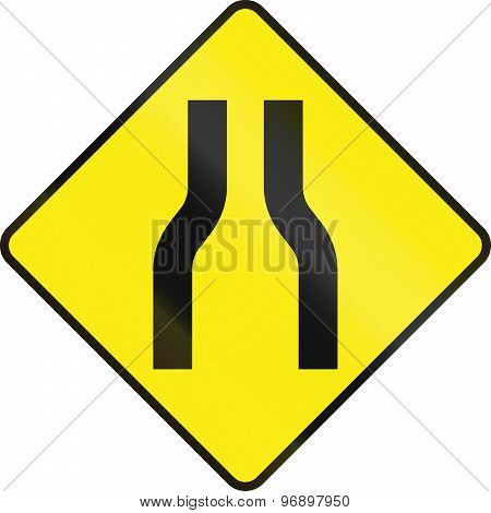 One Lane Road Ahead In Ireland
