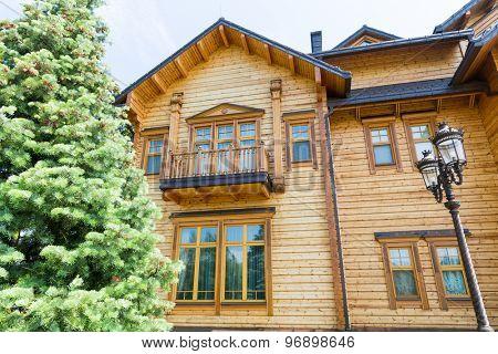 Novi Petrivtsi, Ukraine - May 27, 2015 Mezhigirya residence of ex-president of Ukraine Yanukovich. The