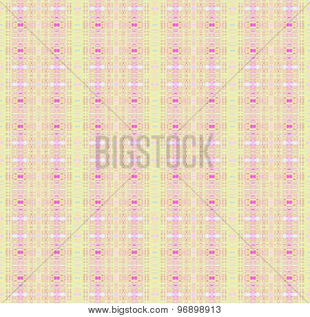Seamless pattern pink pastel green