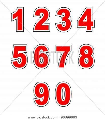 Baseball Shirt Numbers