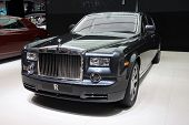 Rolls-royce Ghost At Paris Motor Show