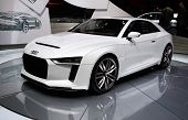 Audi Quattro Concept At Paris Motor Show