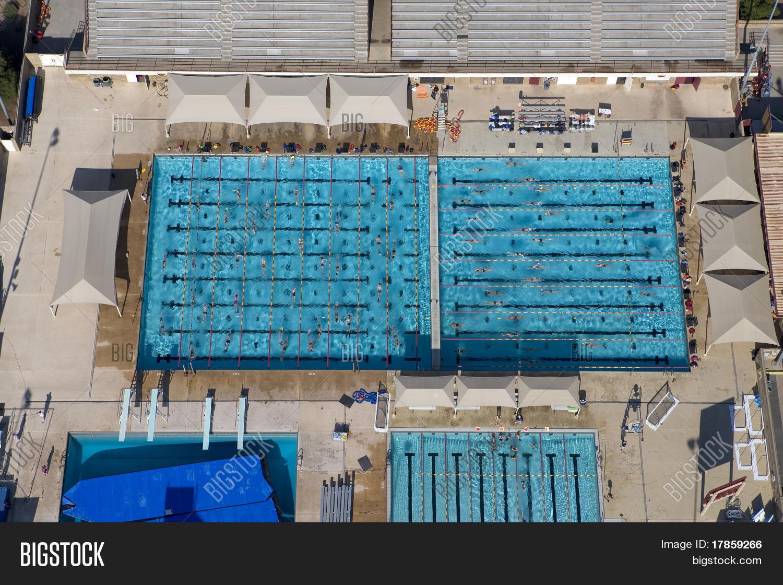 Arizona State University Swimming Pool Stock Photo Stock Images Bigstock