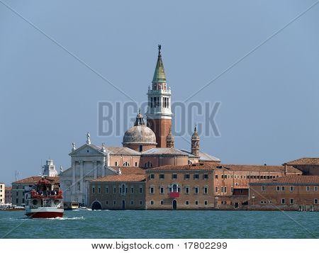 Venice - basilica of San Giorgio Maggiore.
