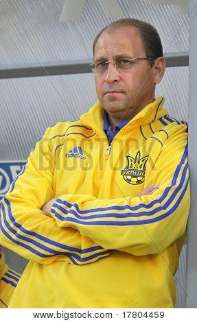 Head Coach Of Ukraine (U-21) National Team Pavlo Yakovenko