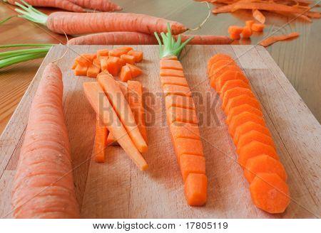 Carrot Preparation