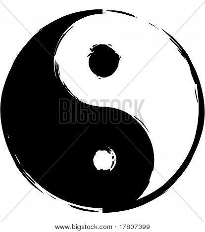 Symbol of yin-yang