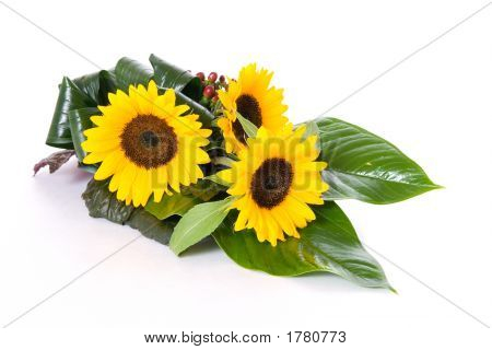 Sunflowers Table Decoration
