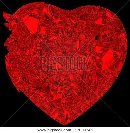Broken Crystal Heart: Disease Or Pain