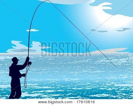Flyfishing On Sea