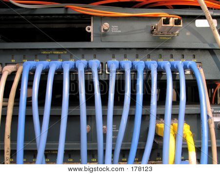 Network Switch Front