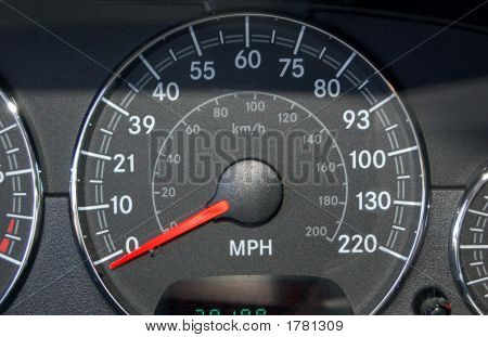 Speedometer Is Whacked Out